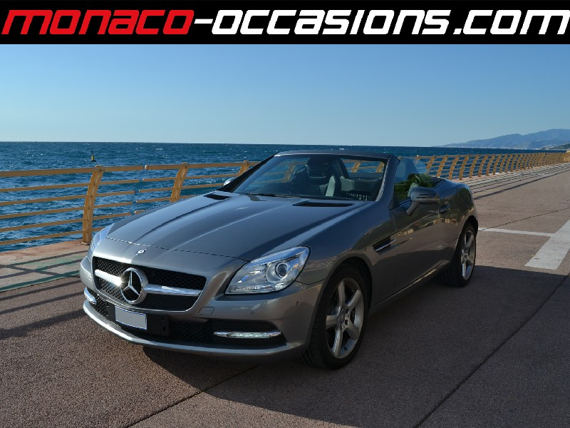 mercedes slk 250 7gtro 2013 occasion monaco 98. Black Bedroom Furniture Sets. Home Design Ideas