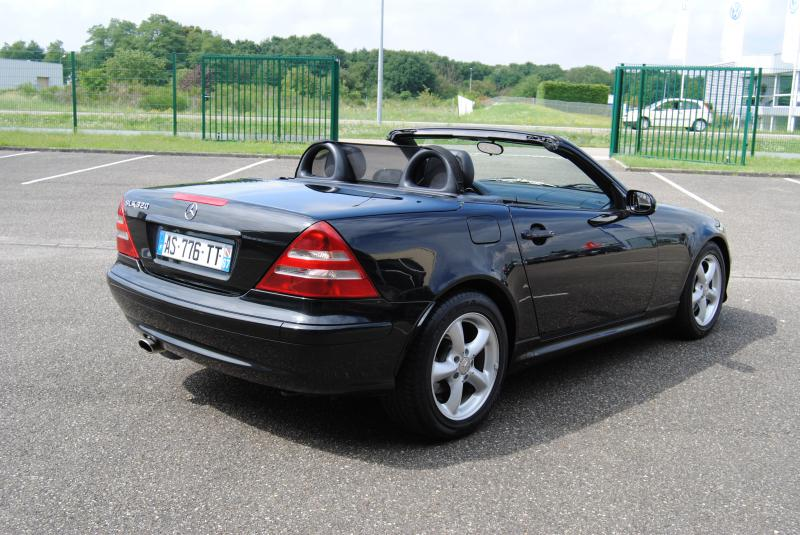 mercedes slk 320 v6 boite automatique 2000 occasion bas. Black Bedroom Furniture Sets. Home Design Ideas