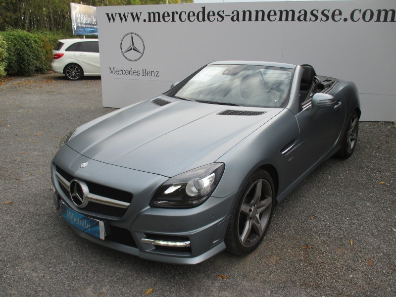 mercedes slk classe 350 7gtro edition 1 2011 occasion haute savoie 74. Black Bedroom Furniture Sets. Home Design Ideas