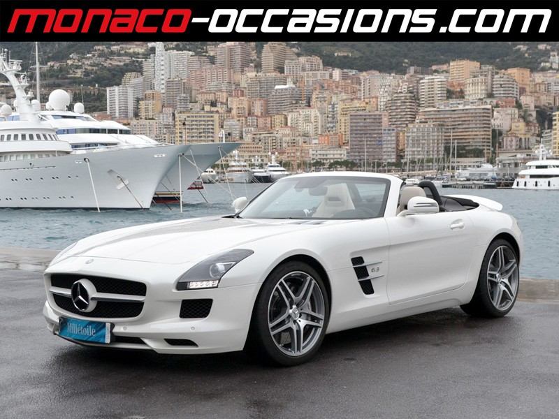 mercedes sls roadster 63 amg 2012 occasion monaco 98. Black Bedroom Furniture Sets. Home Design Ideas