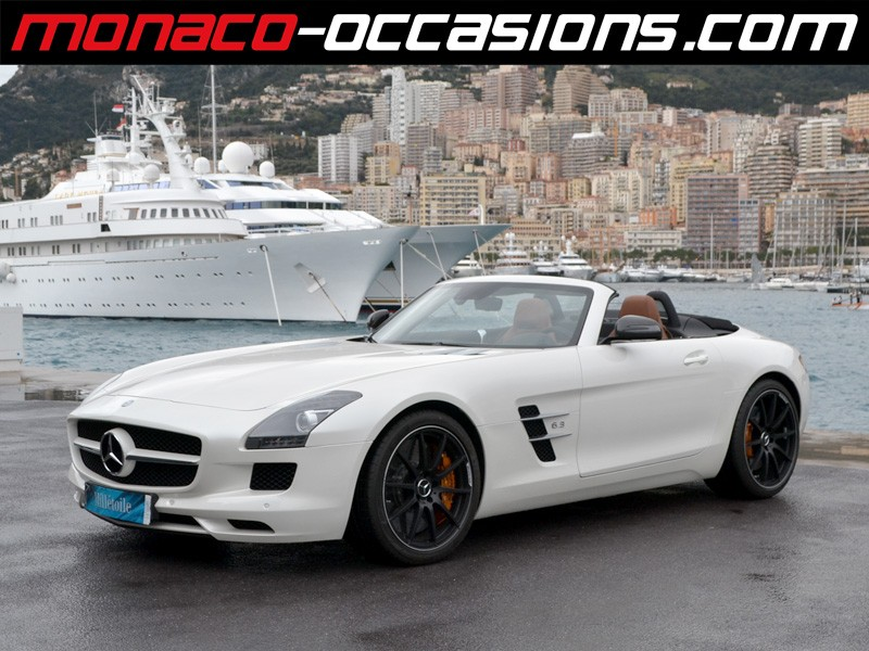 mercedes sls roadster 63 amg speedshift dct 2012 occasion monaco 98. Black Bedroom Furniture Sets. Home Design Ideas