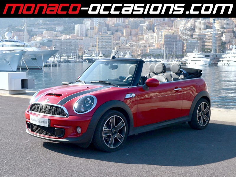 mini one cabrio cooper s 2014 occasion monaco 98. Black Bedroom Furniture Sets. Home Design Ideas