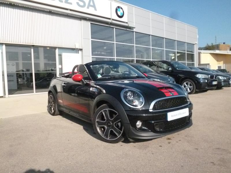 mini roadster cooper s pack red hot chili 2013 occasion doubs 25. Black Bedroom Furniture Sets. Home Design Ideas