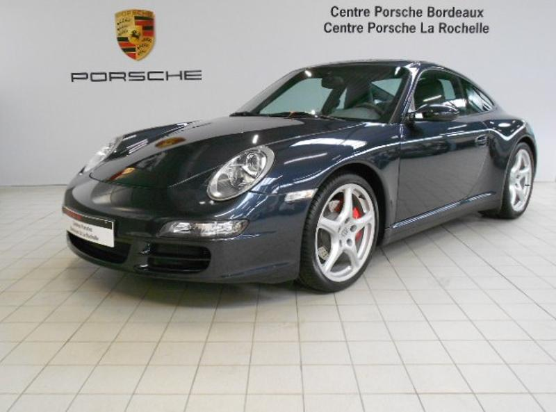 porsche 911 coupe carrera 4s 2007 occasion gironde 33. Black Bedroom Furniture Sets. Home Design Ideas