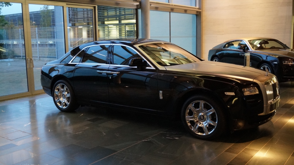 rolls royce ghost v12 6 6 limited edition occasion loire 42. Black Bedroom Furniture Sets. Home Design Ideas