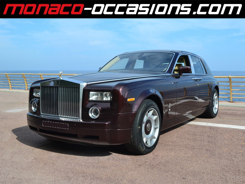 rolls royce phantom v12 2004 occasion monaco 98. Black Bedroom Furniture Sets. Home Design Ideas