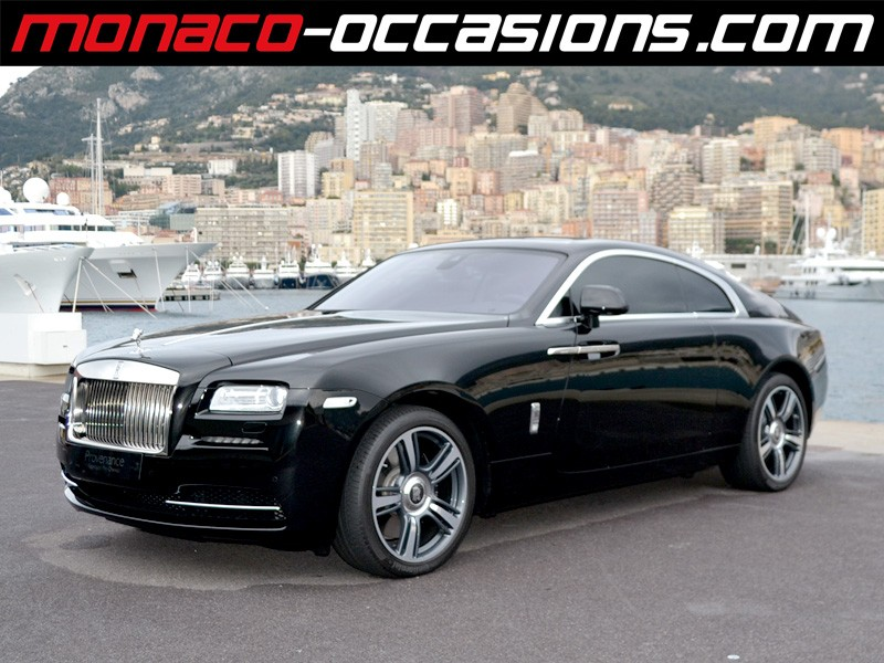 rolls royce wraith v12 632 ch 2014 occasion monaco 98. Black Bedroom Furniture Sets. Home Design Ideas